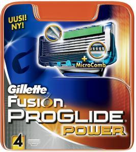Gillette Fusion ProGlide Power 4 stk