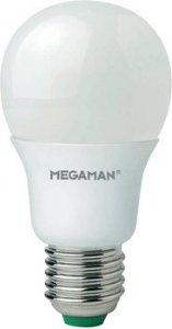 Megaman LED E27 5,5W varm hvit