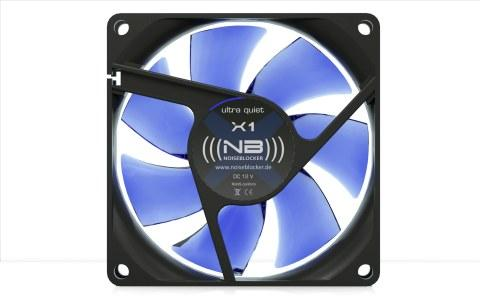Noiseblocker BlackSilent Fan X-1