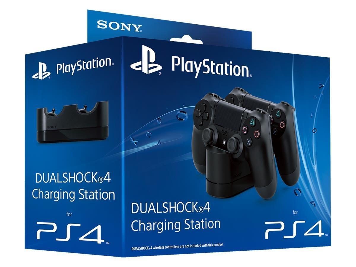Power A dual PS4 ladestasjon PlayStation kontrollere og
