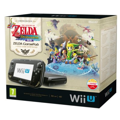 Nintendo Wii U Premium (inkl. The Legend of Zelda: Wind Waker HD)