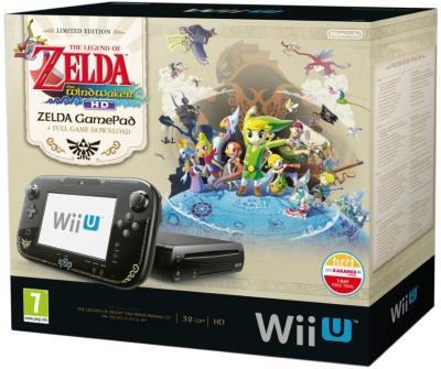 Nintendo Wii U Premium (inkl. The Legend of Zelda: Wind Waker HD)