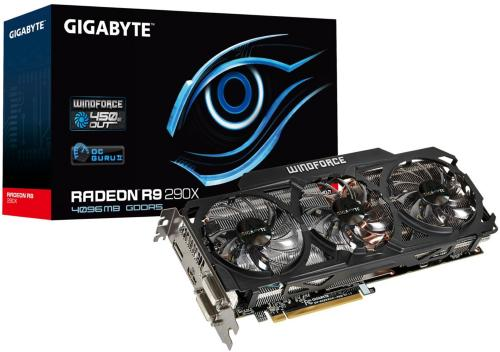 Gigabyte Radeon R9 290X Windforce 3X OC 4GB