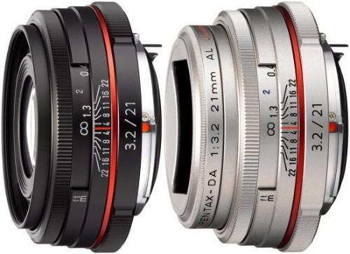 Pentax HD DA 21mm f/3.2 AL Limited