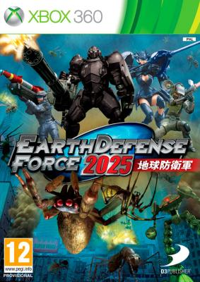Earth Defense Force 2025 til Xbox 360