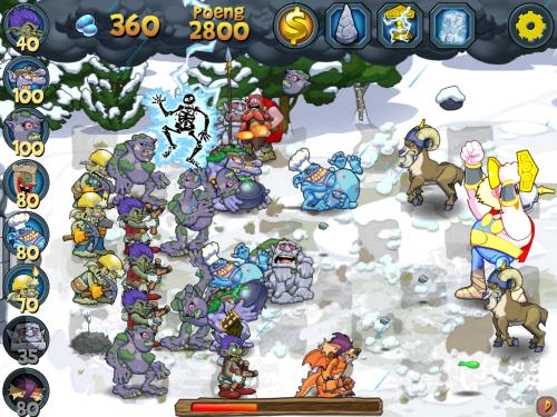 Troll mot Vikinger til iPhone