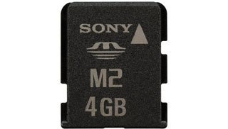 Sony Memory Stick Micro (M2) 4 GB with USB adapter