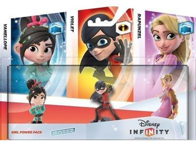 Disney Infinity Figure 3-Pack Girl Power