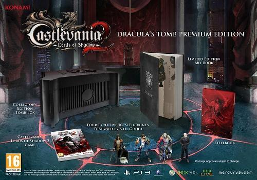 Castlevania: Lords of Shadow 2 - Dracula's Tomb Premium Edition til PlayStation 3