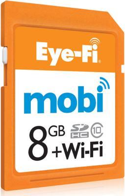 Eye-Fi Mobi Wireless SDHC 8GB Class 10