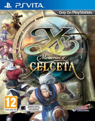 Ys: Memories Of Celceta til Playstation Vita