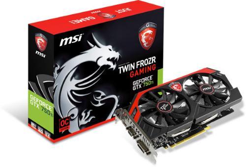 MSI GeForce GTX 750 Ti Twin Frozr IV Gaming OC