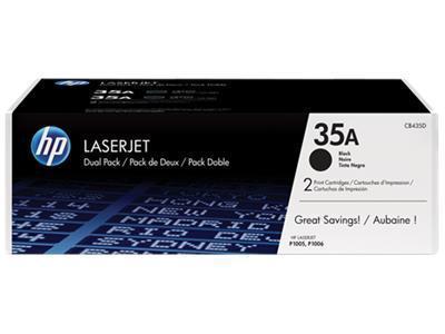 HP 35A Black Dualpack
