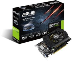 Asus GeForce GTX 750 Ti 2GB
