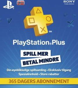 Sony PSN Plus 12 måneder