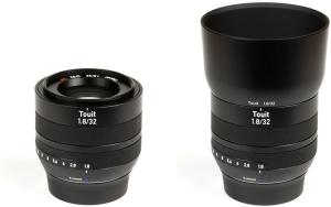 Carl Zeiss Touit 32mm F1.8 Fuji X