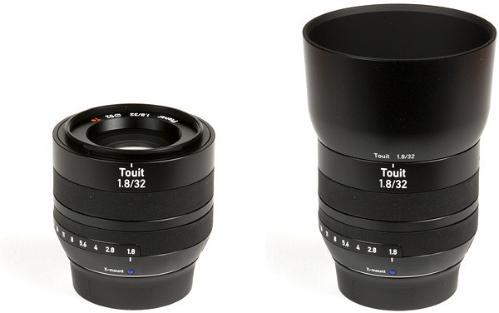 Carl Zeiss Touit 32mm F1.8 Fuji X