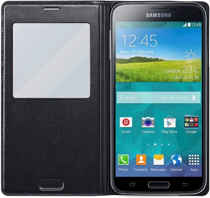 Samsung S-View Cover til Galaxy S5