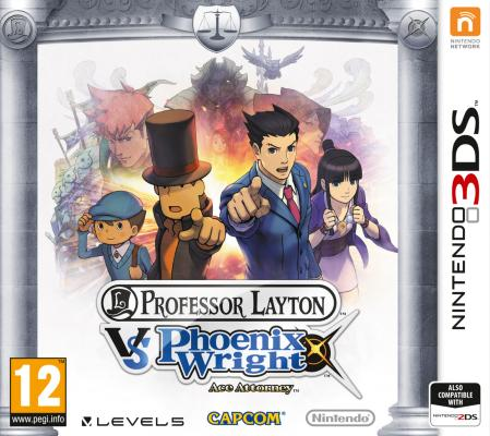 Professor Layton Vs. Phoenix Wright: Ace Attorney til 3DS