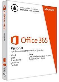 Microsoft Office 365 Personal Svensk