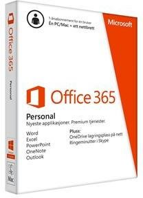 Microsoft Office 365 Personal Norsk