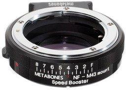 Metabones Speed Booster BMPCC Nikon G - MFT