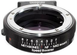 Metabones Speed Booster BMPCC Nikon G - MFT