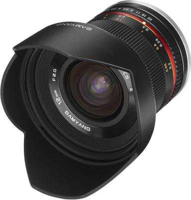 Samyang 12mm F2.0 NCS CS for Samsung NX