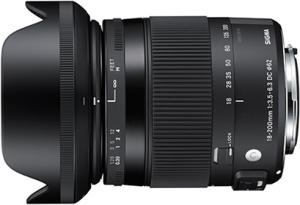 Sigma 18-200mm F3.5-6.3 DC C OS HSM for Canon