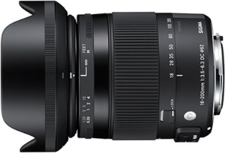 18-200mm f/3.5-6.3 DC Macro OS HSM Contemporary for Canon