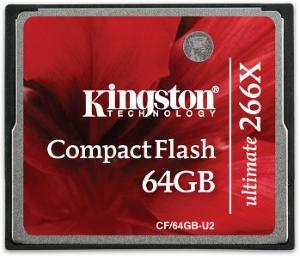 Kingston Ultimate 266X CompactFlash 64GB UHS-II