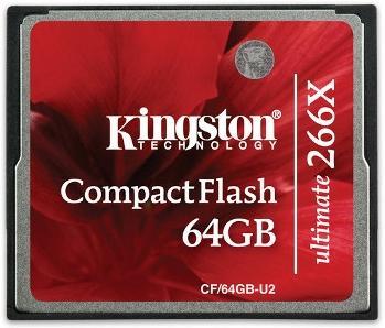 Kingston Ultimate 266X CompactFlash 64GB UHS-II