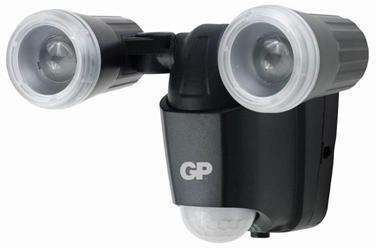 GP Safeguard RF2 utendørslampe med bevegelsessensor