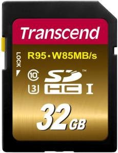 Transcend SDHC UHS-I U3 Extreme 32GB