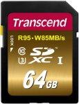 Transcend SDXC UHS-I U3 Extreme 64GB