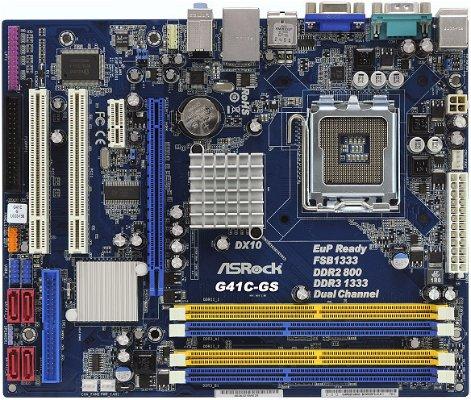 ASRock G41C-GS