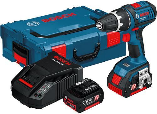 Bosch GSR 18 VE-2-LI (2x5,0Ah)