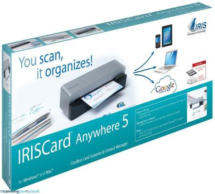 IRIS Card Anywhere 5