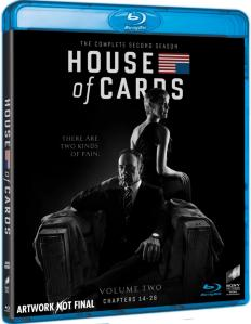 Netflix House of Cards Sesong 2