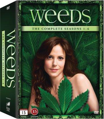 Showtime Weeds: Komplett samleboks