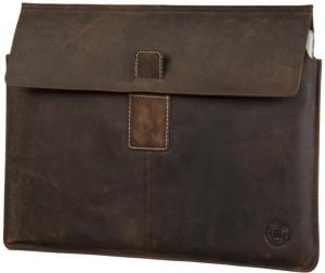 DBramante1928 Leather Envelope Hunter iPad