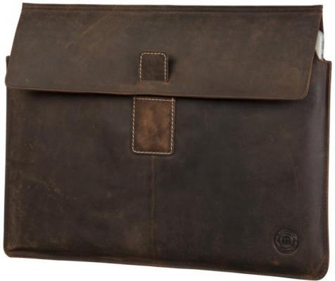 DBramante1928 Leather Envelope Hunter iPad Mini
