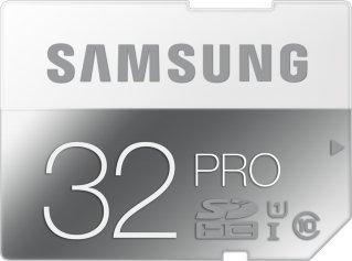 Samsung Pro SDHC 32GB Class 10