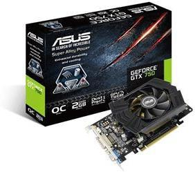 Asus GeForce GTX 750 2GB OC