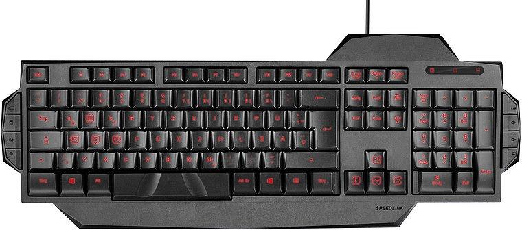 SpeedLink Rapax Gaming Tastatur Komplett.no