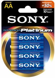Sony Stamina Platinum AA - 4stk