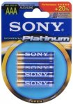 Sony Stamina Platinum AAA - 4stk