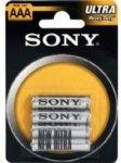 Sony AAA R03 - 4 stk