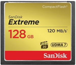 SanDisk Compact Flash Extreme 128GB