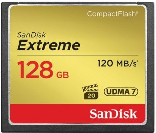 Compact Flash Extreme 128GB
